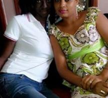 """Kiné Gueye et Ndeye Marie Diop les deux vedettes de la série """"Bour Guéweul"""""""
