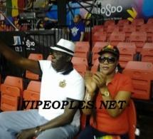 "Baba Tandian et sa 3éme"" Kani Ngegn"" au stade pour supporter les lions du basket"