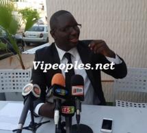 Les images du point de presse de Salam Diallo sur la maladie Ebola