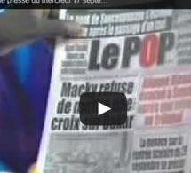 Vidéo- Revue de presse du mercredi 17 septembre 2014 -RTS1