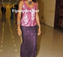 Ngoné Ndour très élégante en traditionnelle.