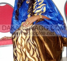 Miss la ravissante de Aziz Ndiaye le jour du baptême de son fils