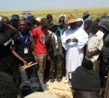 Khelcome 2014: Le milliardaire Cheikh Amar et sa délégation aux oeuvres de Serigne Saliou Mbacké