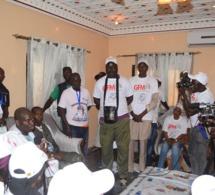 La délégation du groupe futur média à Khelcom.