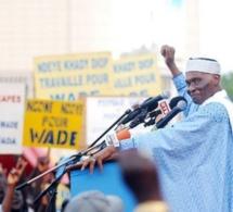 Me Abdoulaye Wade taxe les responsales libéraux de poltrons