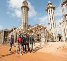Reportage-La grande mosquée Massalikoul Djinane de Dakar sort de terre