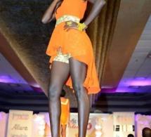 Fleur Mbaye dans une tenue d'Emma Style Show
