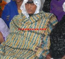 La veuve de Demba Dia: Aida Ndong en larme