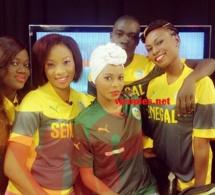 """L'équipe de """"Petit déj"""" sur Walf Tv au couleur de l'équipe nationale du Sénégal"""