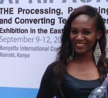 Amina Badiane, l'ex Top modèle sénégalaise qui vivait en Italie lance un magazine intitulé  » Africa Industrie »