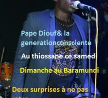 "Spécial ""Rakadiou"" Pape Diouf revient ce samedi au Thiossane Night et dimanche au Baramundi"