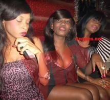 La bande des trois: Sounkarou, Khady Fall et Maréme en mode fiesta