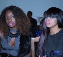 La femme d'affaires Colé Faye en compagnie de  Fatou Fall de New York à la soirée de Salam