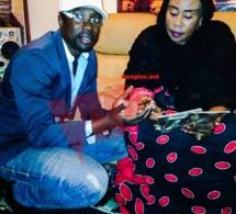 Quand maman Daro Mbaye bénit l'album de son fils Sidy Samb. Regardez