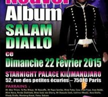 Soirée Sénégalaise à Paris: Salam Diallo présente son nouvel album au Star Night ce dimanche 22 Fevrier