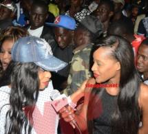 La présentatrice vedette de Dakar ne dort pas, Esther Ndiaye dans ses œuvres.