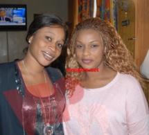 Aida Samb en compagnie de Ndeye Mbollo aux USA.