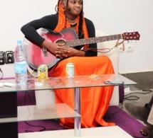 La chanteuse Savan Soul présente au MKS de Dakar à l' IAM.