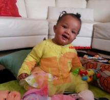 Photo: Voici la mignonne petite princesse de la femme d'affaires Oumou Provocation.
