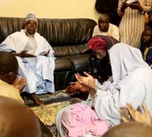 La Première Dame, Marième Faye Sall en visite à Prokhane avec la lionne de Kaolack Me Nafissatou Diop Cissé