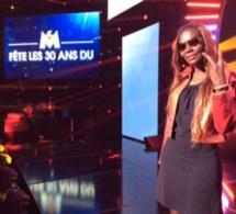 Coumba Gawlo à l'émission Top 50 de M6 en France