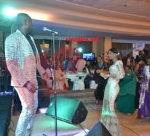Soirée de gala du port: Pape Diouf assure son show spectacle devant les employés de Cheikh Kanté.Regardez