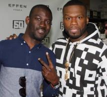 Le paparazzi Gomis en compagnie de 50 Cent aux USA;