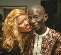 Arrêt sur image: le bisou de Guigui à père Doudou Ndiaye Rose…