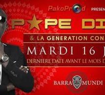 "Derniére ""Rakadiou SHow"" avant le ramadan ce mardi au Baramundi avec Pape Diouf de retour de la Gambie"