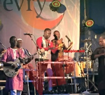 Les premières images du concert de Youssou Ndour à Evry pour fêter la musique ce 21 juin