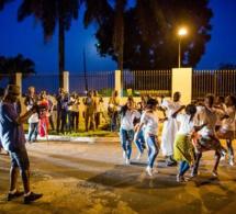 Akon en tournage d'un nouveau clip contre Ebola