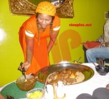 """En images: la chanteuse Guigui en mode préparation """"Ndogou"""""""