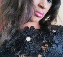 Le mannequin Khadija Diallo respire la forme et le bonheur.
