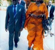 Voici Pape Diop et l'ex d'Ahmed Khalifa Niass l'actuelle femme de Serigne Mboup je veux nommée yaye Fatou Diagne