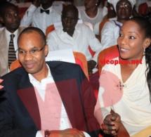 Le patron de GFM Mamadou Ibra Kane en compagnie d'une de ses épouses.