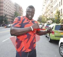 PHOTOS: Le lutteur Amanékh aux Etats Unis