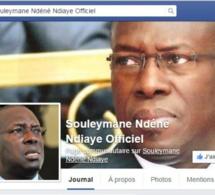 Des photos obscènes postées sur son compte facebook, Souleyene Ndéné Ndiaye exprime son indignation et accuse des bandits...