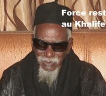 """La grosse colère du Khalife des mourides contre la bande à Assane Mbacké : """"Amoulène bèn diom, je ne veux plus..."""""""