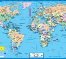 Merci de votre confiance: Voici la cartographie des internautes qui ont installé l'application de Leral sur leur téléphone.