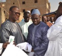 Maoloud 2015: L'homme d'affaires Aziz Ndiaye reçoit Serigne Sam Bousso chez lui à Tivaoune.