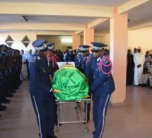 Quelques images de la levée du corps du commissaire Central de Dakar-Plateau Alioune Diène