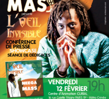 Sortie du 3eme album de l'artiste Neega Mass  le 12 février 2016.