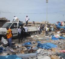 Dernière minute-Niarry Tally : Chaude opération de déguerpissement des occupants du site situé en face du terrain