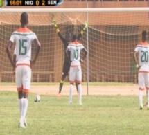 Vidéo- Niger 1-2 Sénégal But du Niger sur Penalty après une faute de main de Cheikh Ndoye