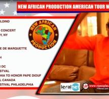 NEW AFRICAN PRODUCTION AMERICANTOUR: Pape Diouf & Génération Consciente aux USA du 09 Juillet au 09 Août.