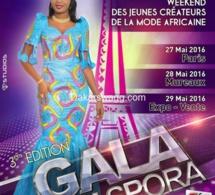 Weekend des jeunes créateurs de la mode africaine : La 3ème Edition du Gala Diaspora se déroulera les 27,28 & 29 Mai 2016 à Paris