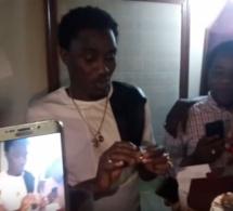 Vidéo- l'anniversaire de Wally Seck, sa femme lui offre une bague en diamant.Regardez