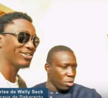 Wally Ballago Seck dans dans les locaux de DAKARACTU sur invitation de Dady Diop (VIDEO)