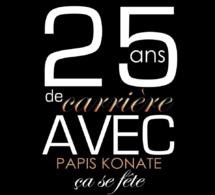 VIDÉO: 25 Ans de carrières, Papis Konaté à fond dans les préparatifs du 08 mai au grand théâtre.Regardez