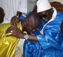 Magal Kazou Rajab, Pape Diouf chez Serigne Abo Fallilou pour accomplir ses devoirs.
